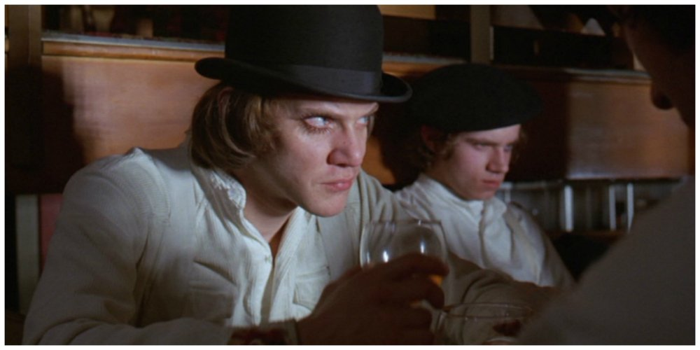 a clockwork orange - bar
