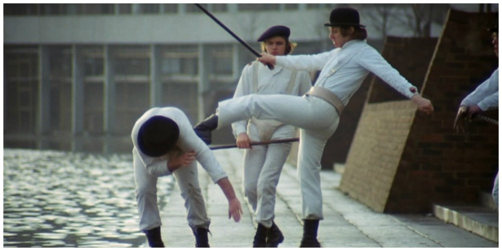 a clockwork orange - fight