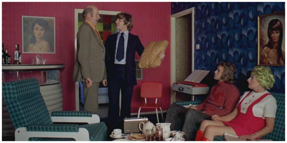 a clockwork orange - lounge scene