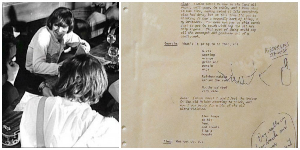 a clockwork orange - script