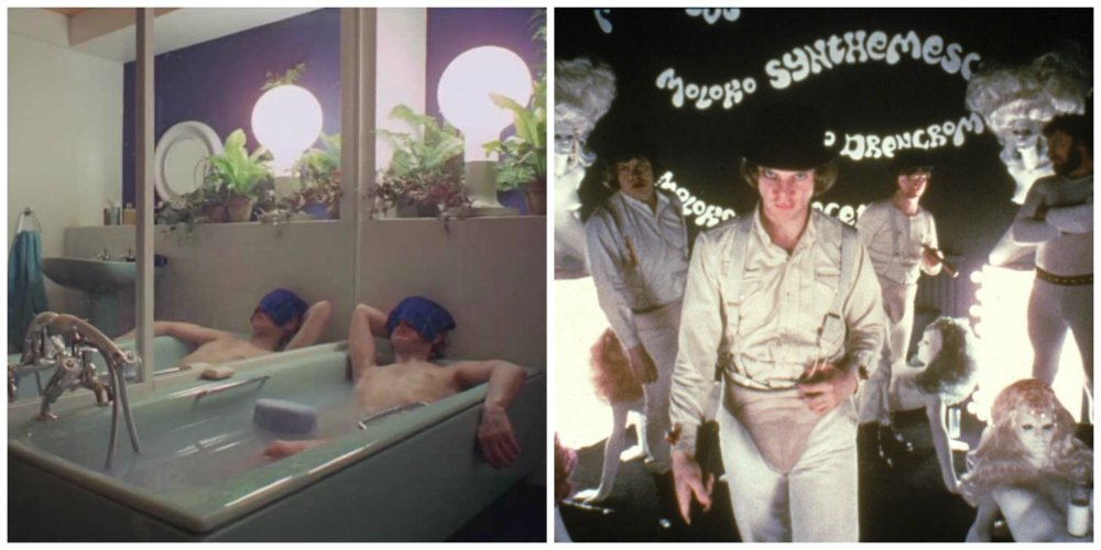 a clockwork orange - set