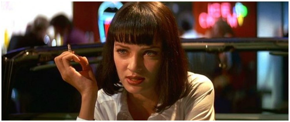 pulp fiction swearing