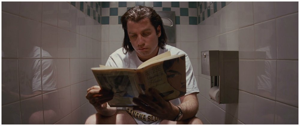 pulp fiction toilet
