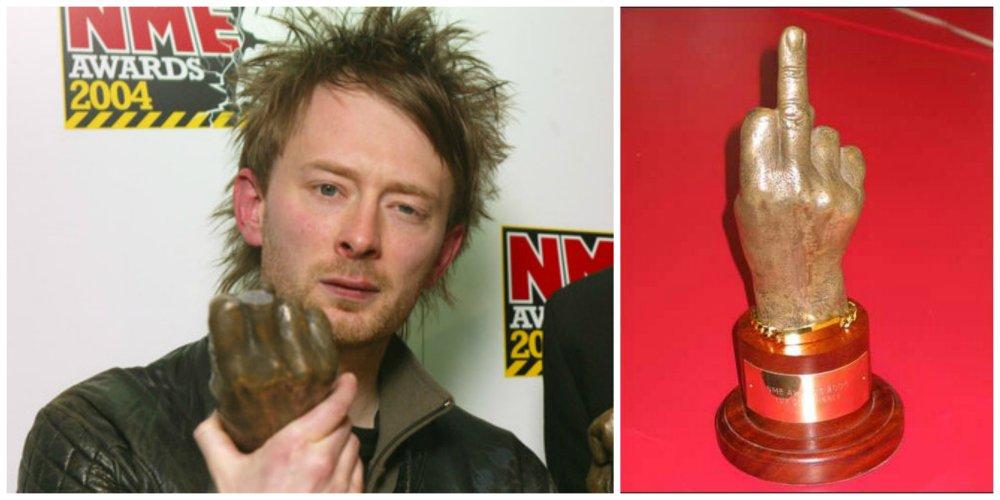 radiohead nme award