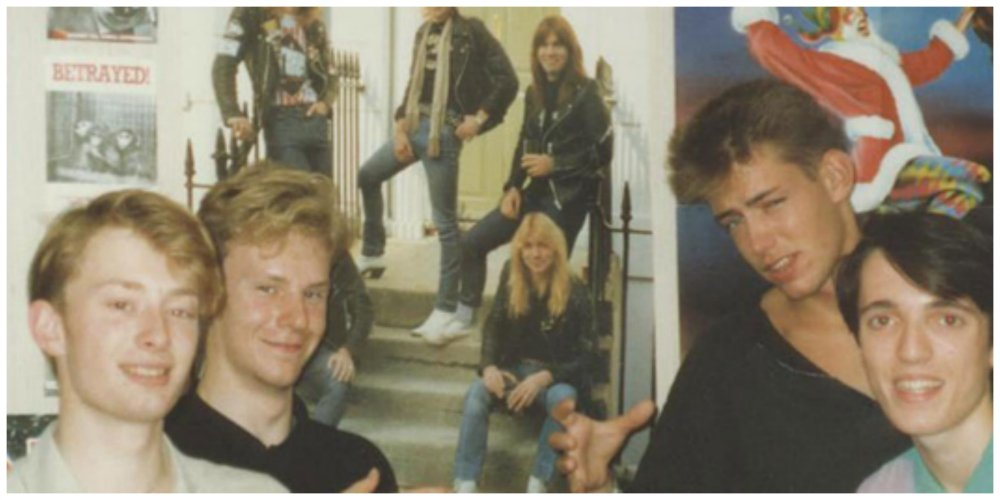 radiohead younger days