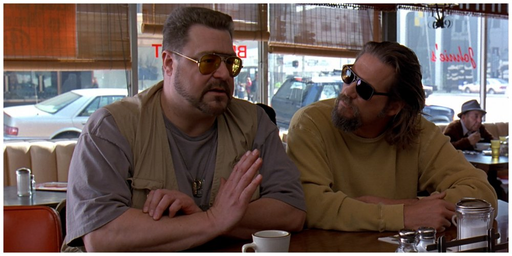 the big lebowski - coffee shop