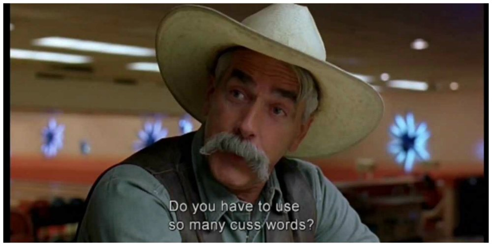 the big lebowski swearing