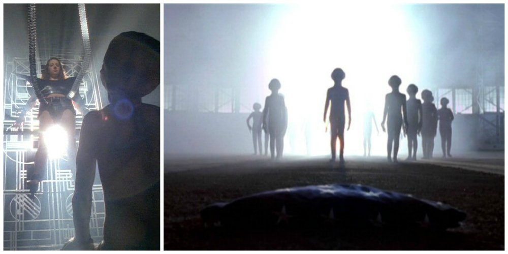 x files alien abduction
