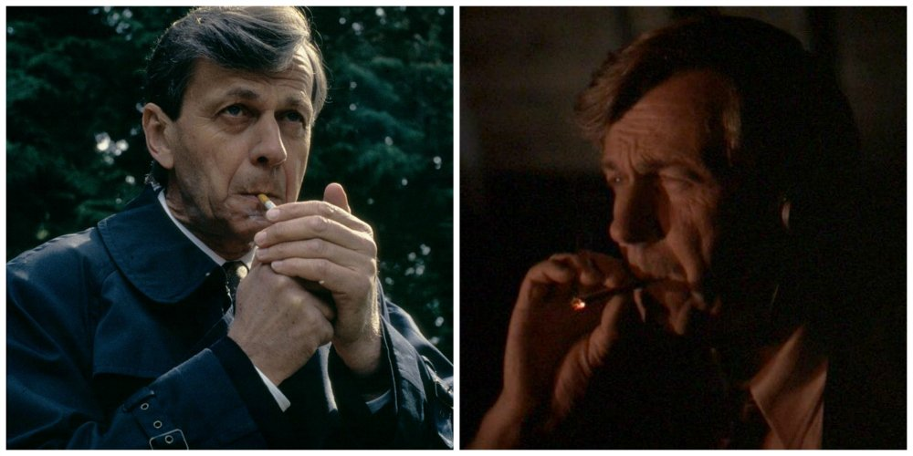 x files cigarette smoking man