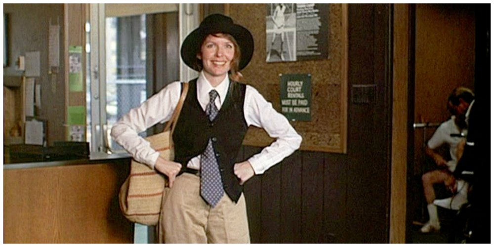 annie hall clothing style