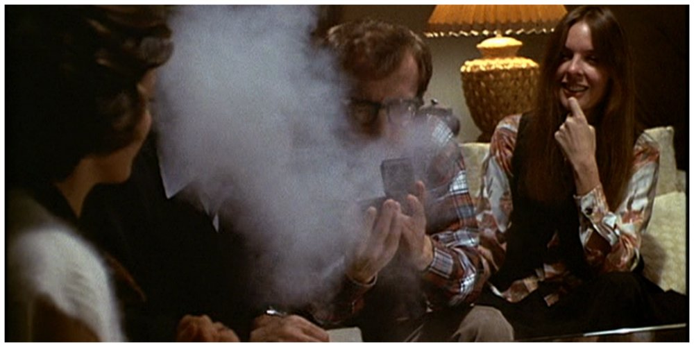 annie hall sneeze