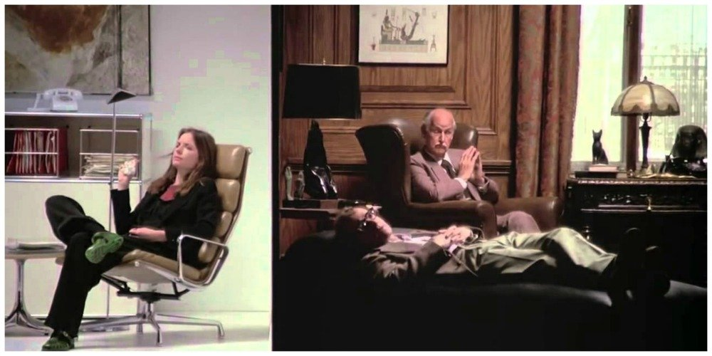 annie hall split screen