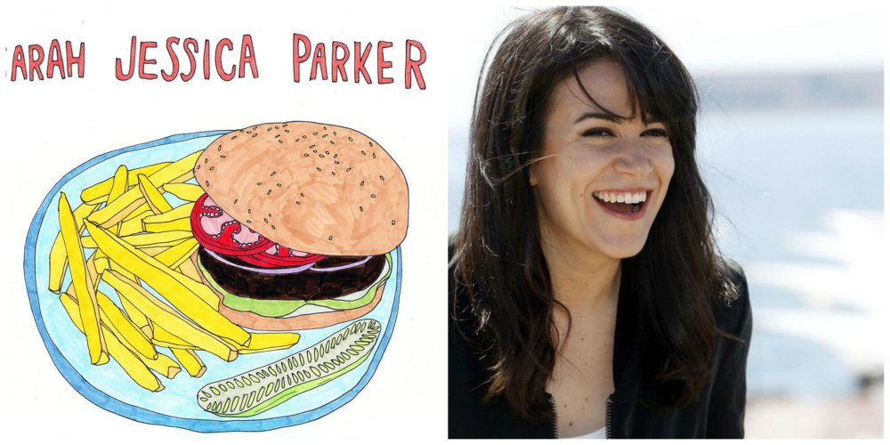 broad city hamburger