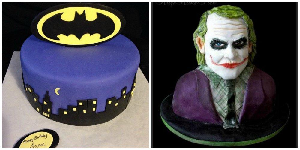 dark knight cake
