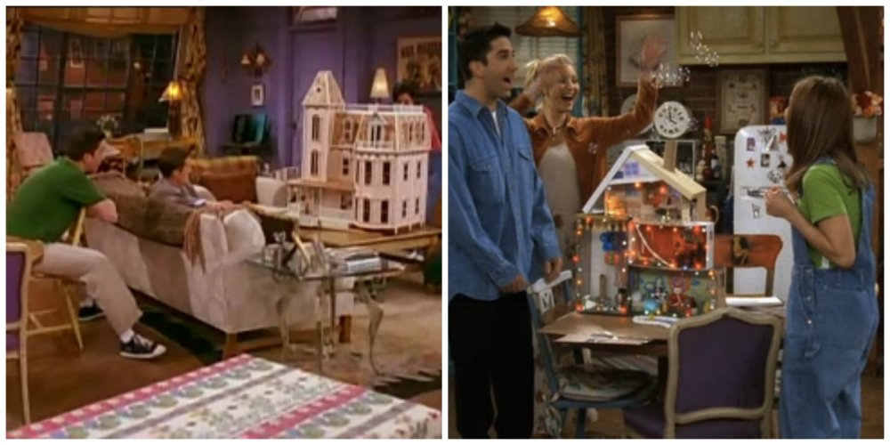 friends dollhouse