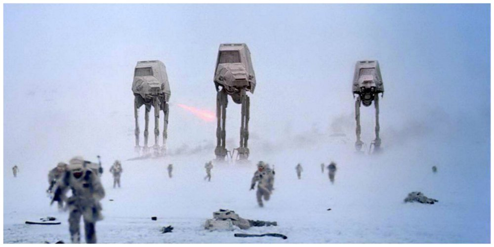 star wars mistakes imperial walkers