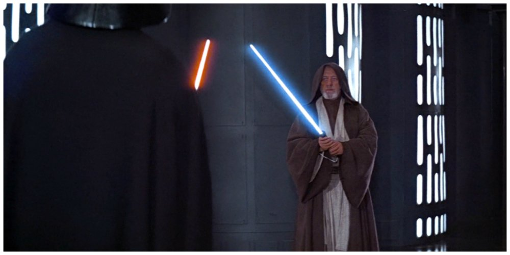 star wars mistakes lightsaber