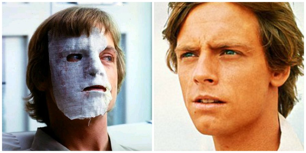 star wars mistakes mark hamill plastic surgery