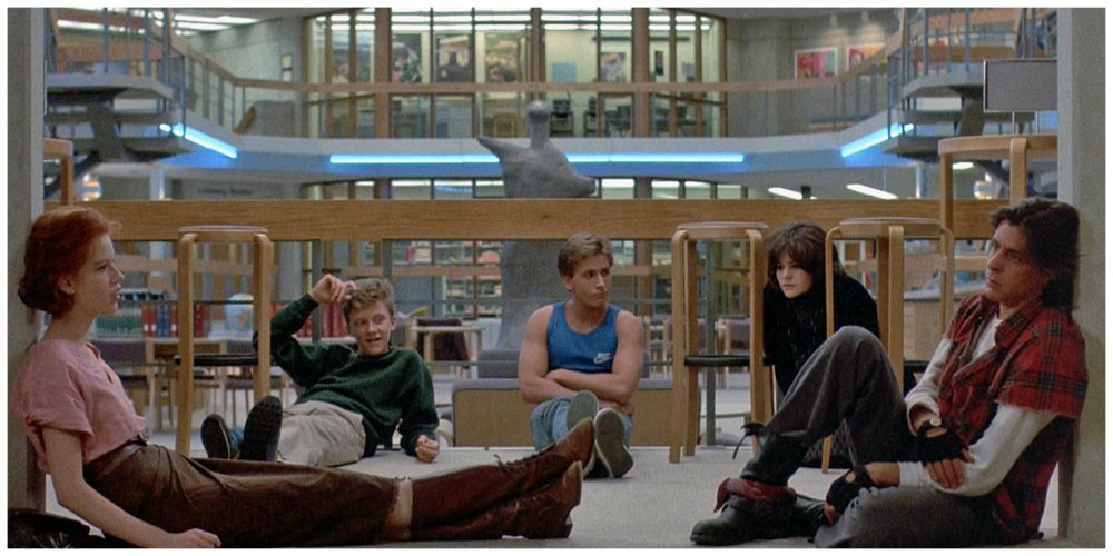 the breakfast club ages