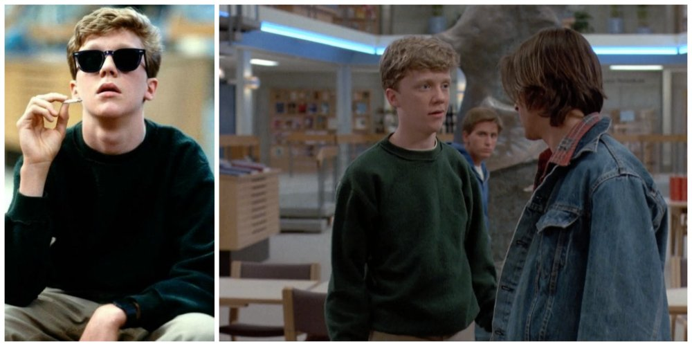 the breakfast club anthony michael hall growth spurt