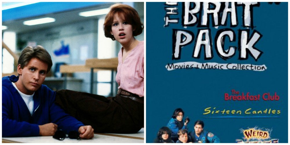 the breakfast club brat pack