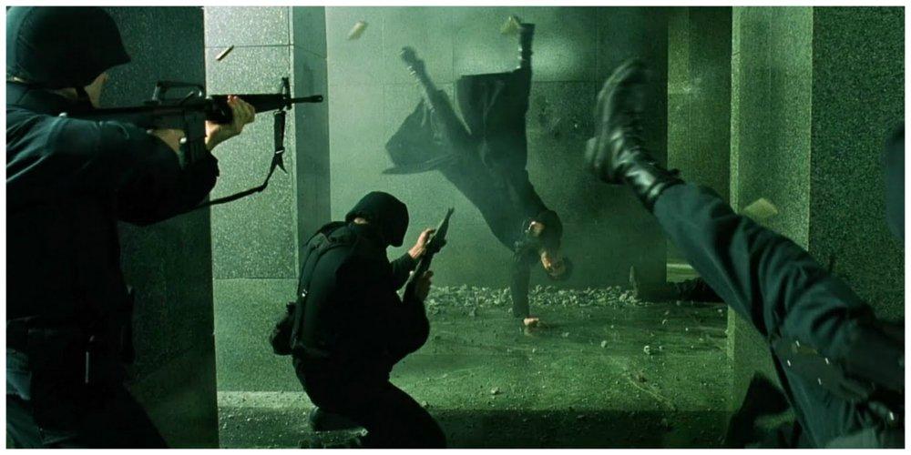 the matrix fight training