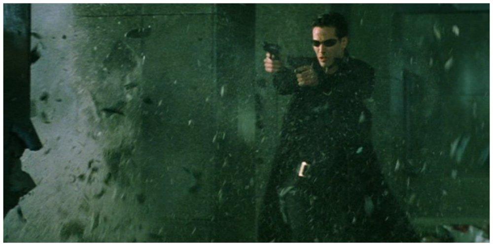 the matrix lobby