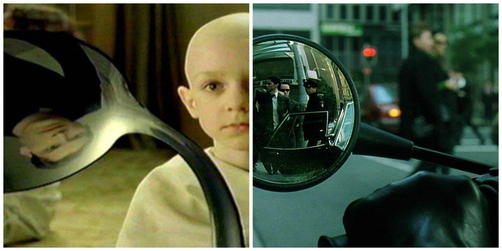 the matrix reflections