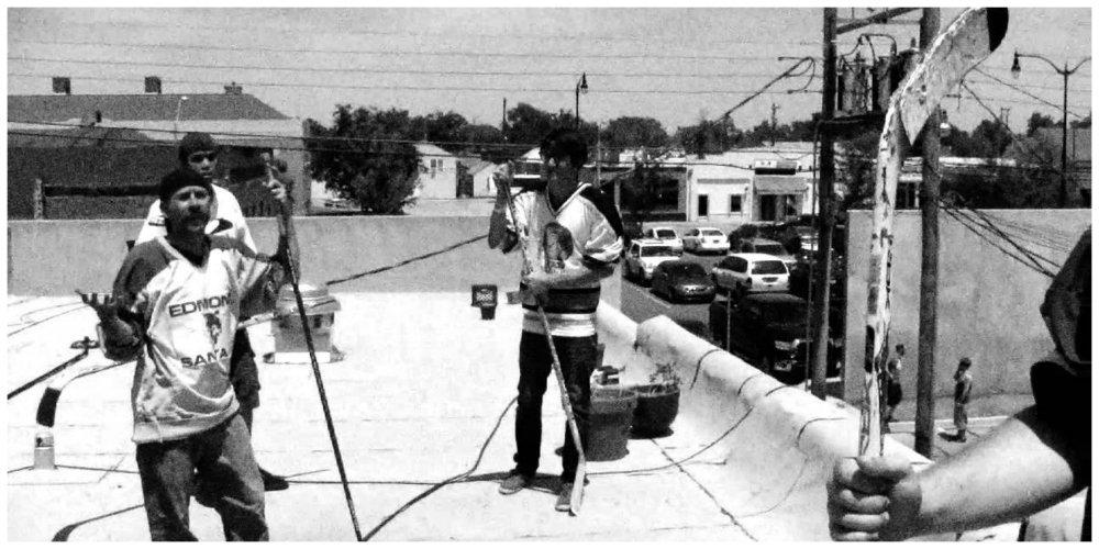 clerks black and white