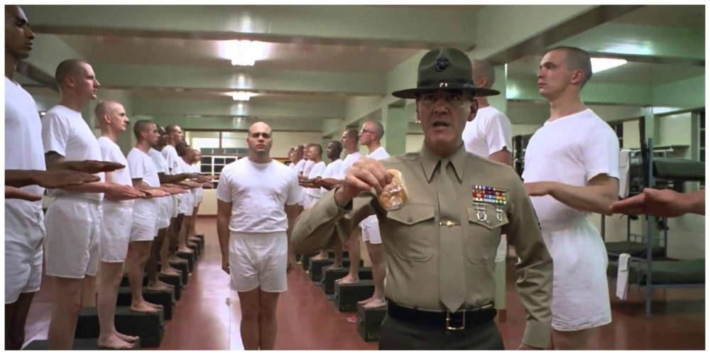full metal jacket donut scene