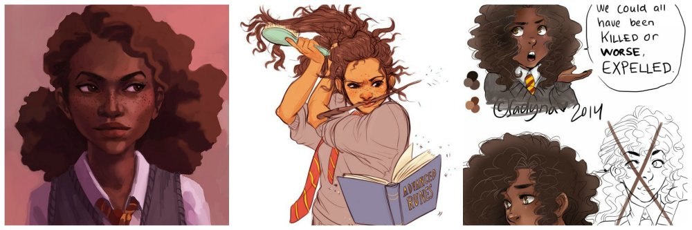 harry potter ethnic hermione