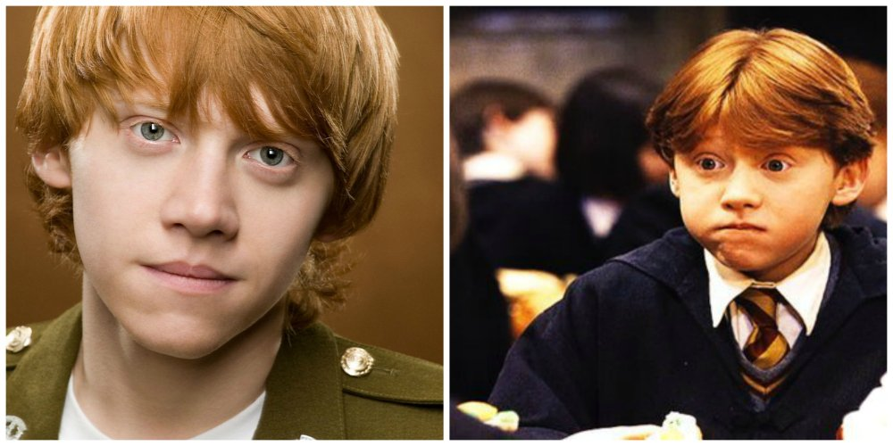 harry potter rupert grint audition