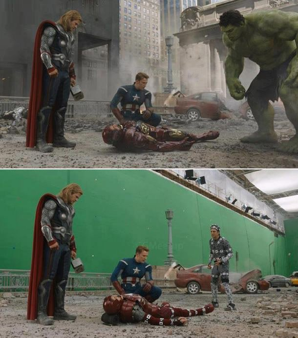 before & after the avengers