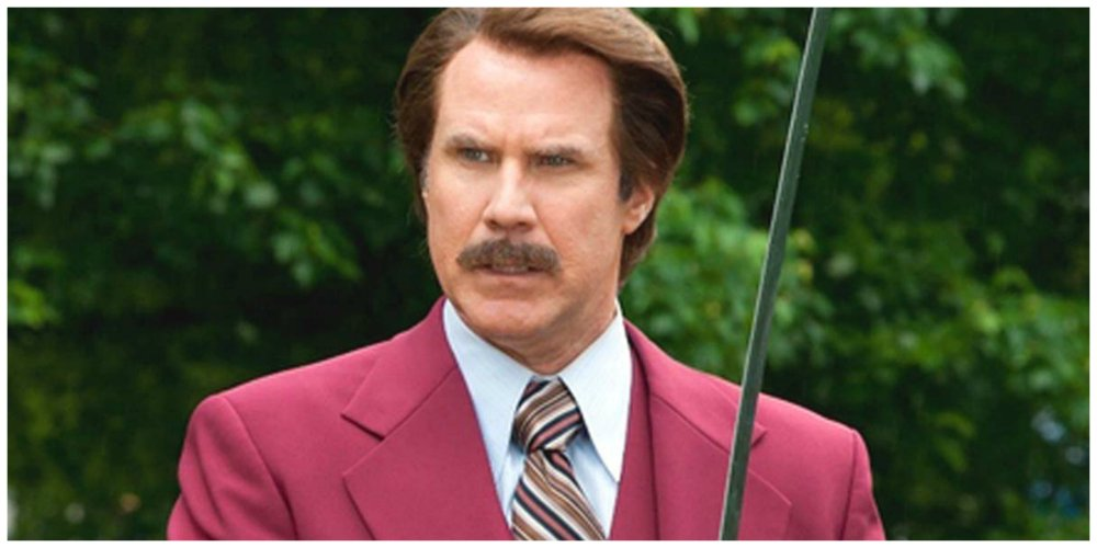 anchorman will ferrell journalist