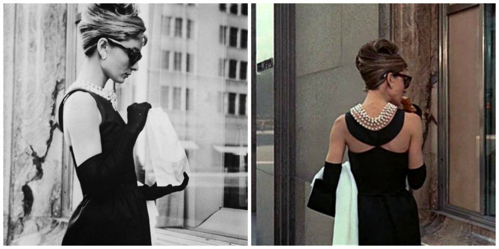breakfast at tiffany's dress