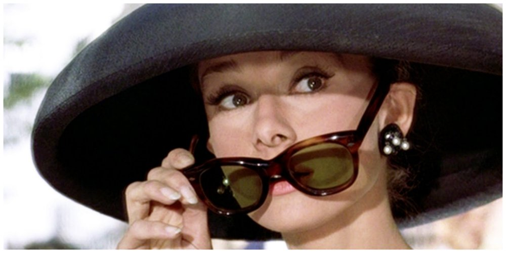 breakfast at tiffany's sunglasses