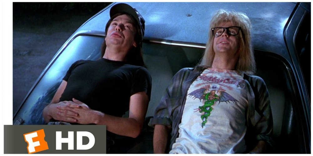wayne's world improv