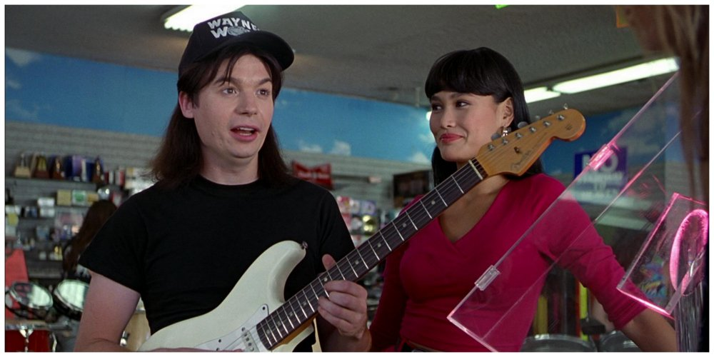 wayne's world playing stairway